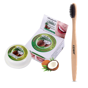 Amazing 10g Natural Teeth Whitening Thai Toothpaste Strong Formula 30g Teeth Whitening Activated Charcoal Tooth Paste Powder
