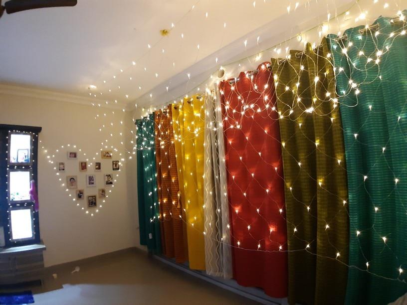 Fios de LED Lâmpada Jardim Junjue