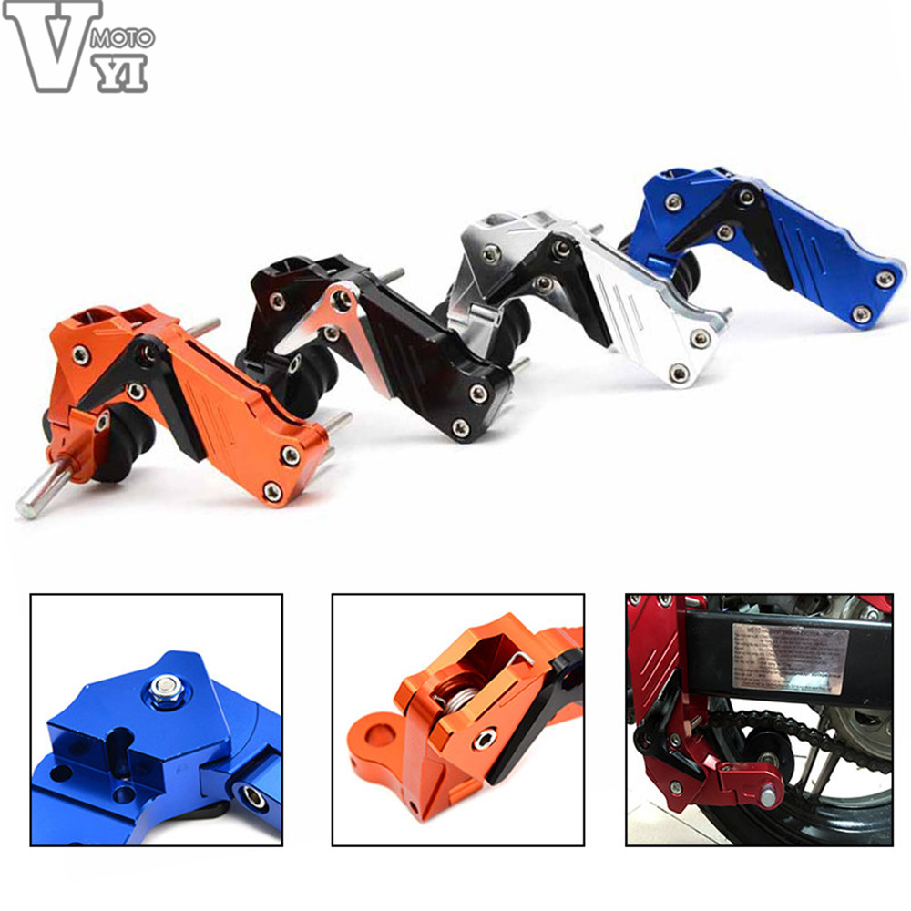 2016 New Hot Universal Motorcycle Motorbike Aluminum Chain Tensioner for Kawasaki ZX6R ZX7R ZX10R ZX9R ZX14R NINJA 2017 new knight protection gxt flip up motorcycle helmet g902 undrape face motorbike helmets made of abs and anti fogging lens