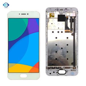 """Image 2 - Volledige Lcd 5.2 """"Voor Meizu Pro 6 Lcd Touch Screen Assembly + Frame Compleet Screen Voor Meizu Pro6 m570M M570H Display"""