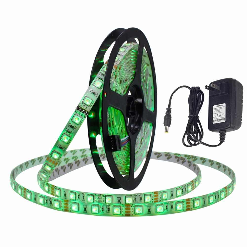 LAIMAIK RGBW kit de bande LED, bande de ruban LED de SMD 5050 imperméable DC12V avec les bandes flexibles auto-adhésives pour l'éclairage à la maison