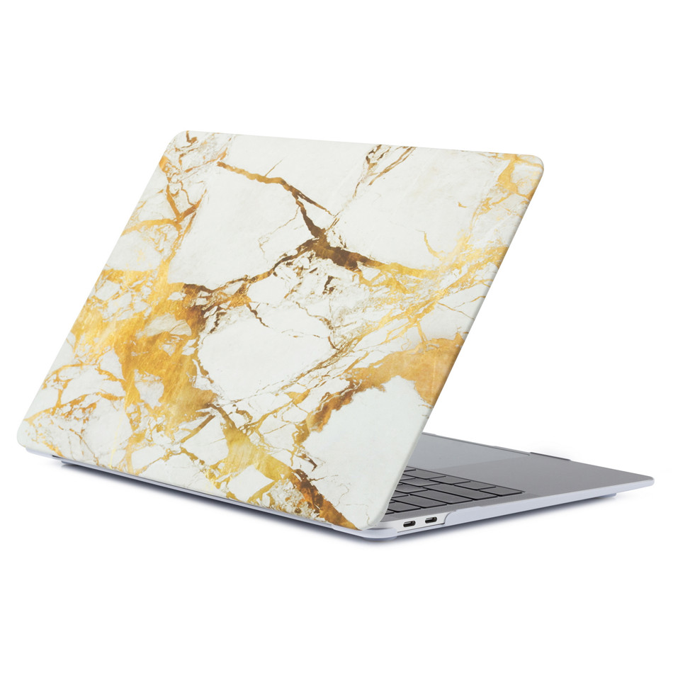 Marble Laptop Case For MacBook Air 13 Mac Book Pro Retina 11 12 13 15 15.4 13.3 Inch Touch Bar Shell  Sleeve+ Laptop Dust Plug (3)