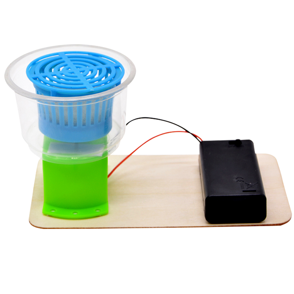 DIY Eductional Toys Mini Electric Dewatering Machine (2pieces)