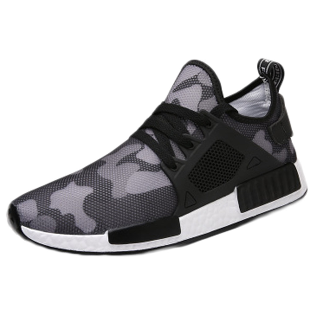 Outdoor Sports Military Camouflage Men Running Shoes 2018 Summer Army Green Trainers Mens Sports Shoes