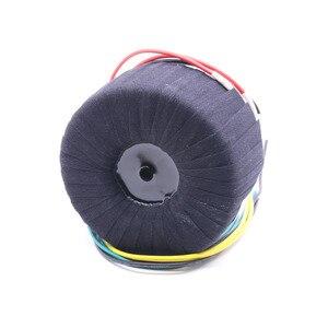 Image 2 - 500 W Siyah Kumaş Toroid Trafo NAP200 Amplifikatör 28V 0 28V 28V 0 28V Ses Güç Trafosu