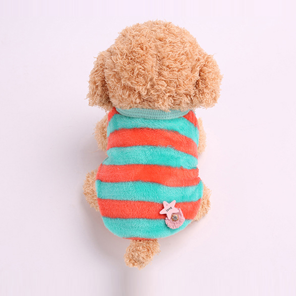 Fashionable Winter Warm Padded Thickening Vest Dog Puppy Costumes Pet Clothes
