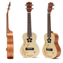 "Zebra 23"" 4 Strings Concert Ukulele Ukelele Hawaii Rosewood Electric Guitar Guitarra For Musical Instruments Lovers Beginner"