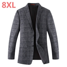 2018 8XL 6XL 5XL 4XL Spring-Autumn Men's Casual Suit Blazer