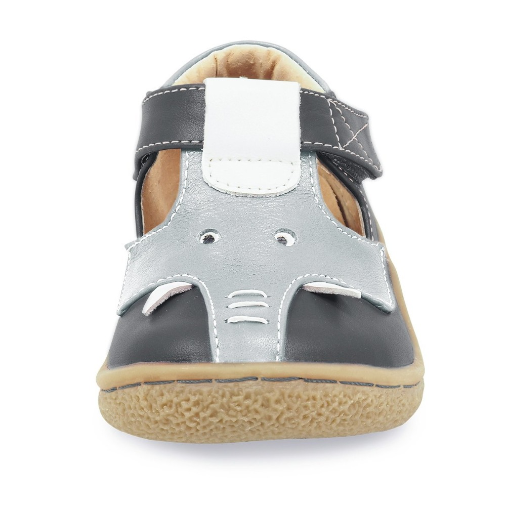 Image 5 - Tipsietoes Barefoot Kids Mary Jane Children's Shoes Boys  Elephant Sneaker Fashion Sport Child Causal  Genuine Leather-in Sneakers from Mother & Kids