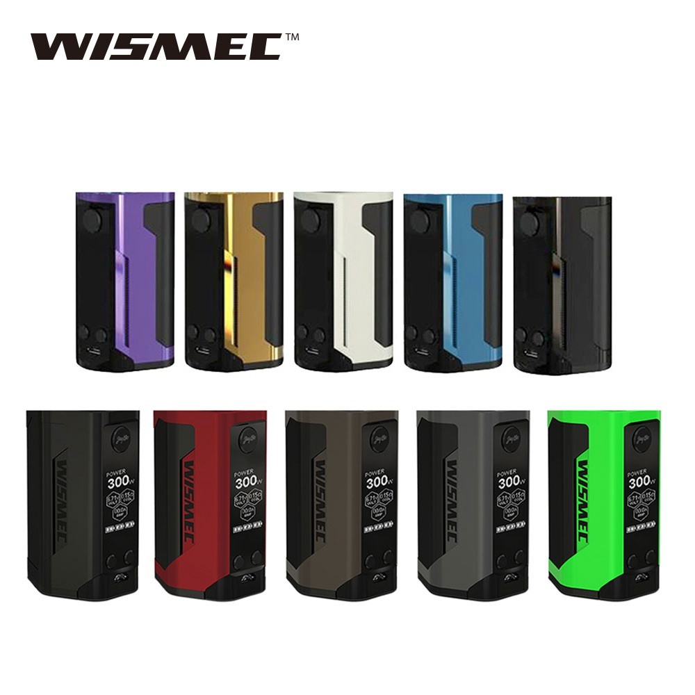 Hot WISMEC Reuleaux RX GEN3 Dual 230W TC Box MOD Vs WISMEC Reuleaux RX GEN3 Box Mod powered by 18650 battery vape mod vs <font><b>RX200S</b></font> image