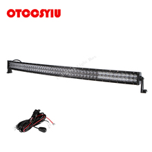 Cree Chips LED Car Head Light bar 52 INCH Combo Beam 900W Curved Straight Lamp Offroad 12v 24v SUV 4x4 4WD Truck Trailer