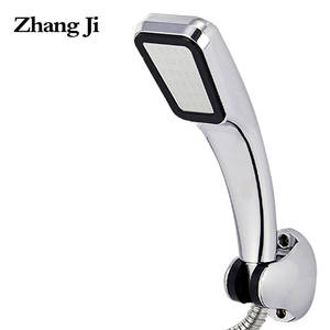 ZJ277 ZHANGJI Water Saving High Pressure Shower Head Chrome ABS Shower Heads