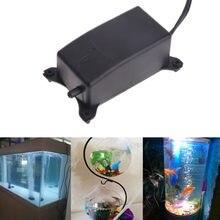 Pompe à Air d'aquarium silencieuse 2W | Pompe à oxygène pour Aquarium, pompe sans bruit pour augmenter l'oxygène avec prise ue 220 à 240V