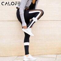 CALOFE Cross Printed Fitness Yoga Pants Women Breathable Running Sport leggings Women Gym Trousers Jogging Leggings Bottoms z30