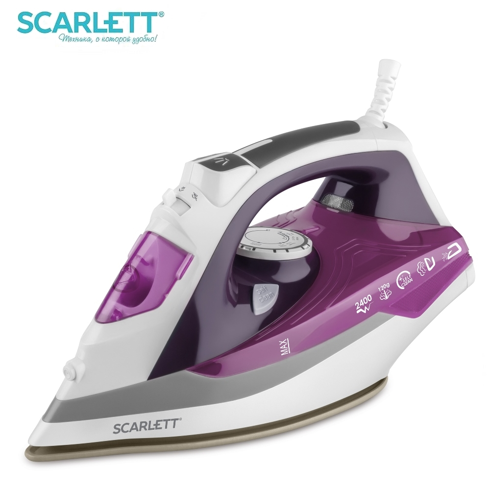 Iron Scarlett SC-SI30P05 Iron for ironing Mini iron steam iron Steam generator for clothing Irons Electric steamgenerator Small steam generator philips gc 7703 20 iron steam generator iron for ironing irons steam iron clothes steamgenerator electriciro