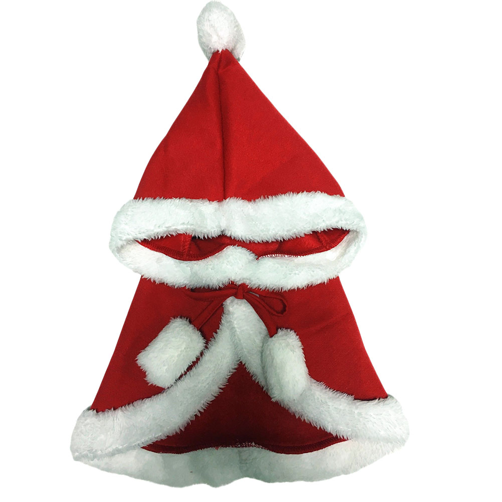 New 1PC S/L Gift For Puppy Little Dog Cape Christmas Decoration For Pet Dog Clothes
