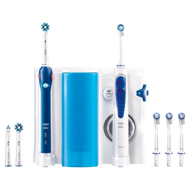 Зубной центр Oral-B Professional Care (Ирригатор Oxyjet+ Электрическая  зубная щетка Oral-B db5a5a4f5f3ff