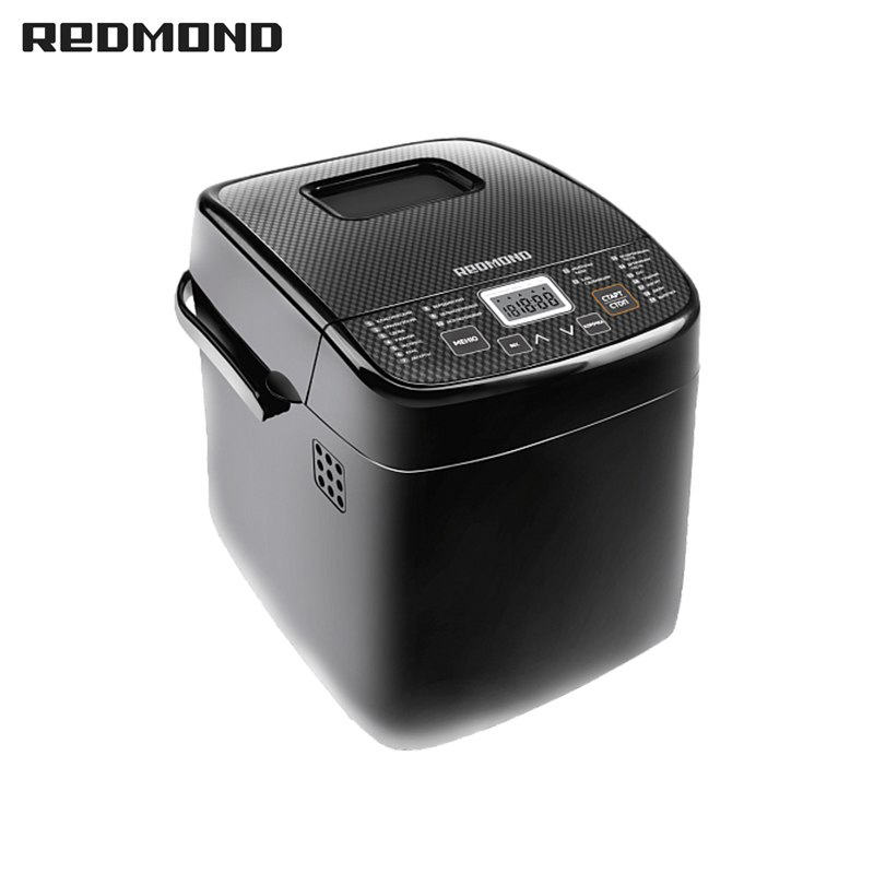 Bread Maker REDMOND RBM-1908 free shipping bakery machine full automatic multi function zipper sandwich makers philips bread household baking 2 slices slots for breakfast toast machine automatic zipper