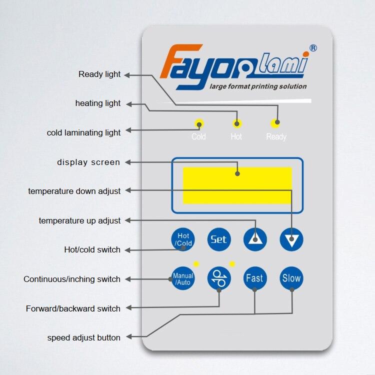 Laminador automático Fy-1600Da de alta qualidade 63