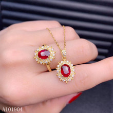 KJJEAXCMY boutique jewelry 925 sterling silver inlaid natural ruby female ring necklace pendant set support detection kjjeaxcmy fine jewelry 925 sterling silver inlaid natural opal female ring pendant set classic support detection