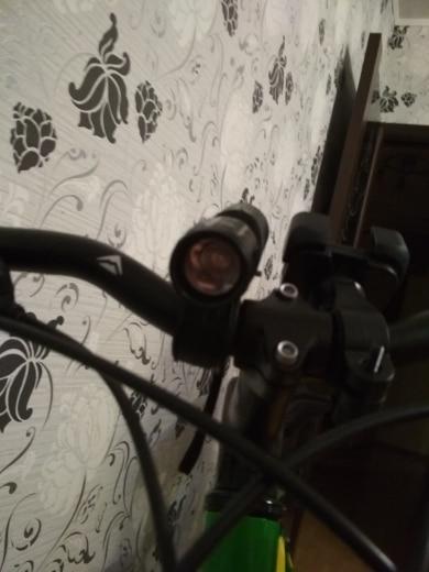 FTW велосипед свет 7 ватт 2000 люмен 3 режима велосипед Q5 светодио дный велосипед свет лампы спереди факел Водонепроницаемый лампы + Факел держатель BL000