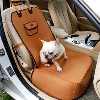 Breathable Dog Beds for Small Dogs Hammock Dog House Pet Mat Universal Pet Car Seat Cover Travel Pet Nest Basket House for Cat