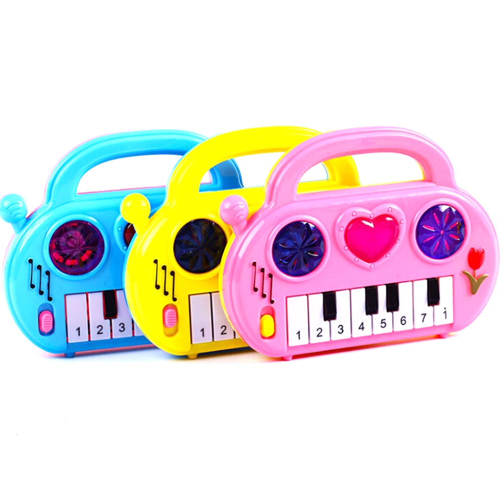 Baby Kids Smart Animal Piano Smart Music Toy English Early Educational Toys For Gift Color Random
