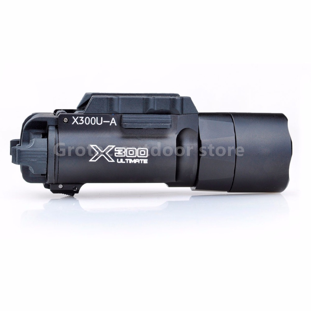 Night Evolution Tactical Flashlight x300u LED Flashlight Tactical Gun Light For Weapon