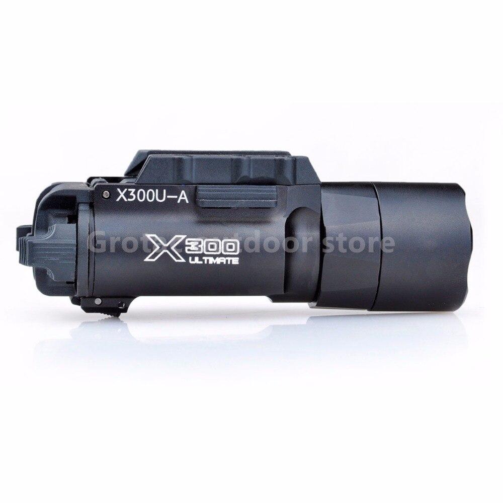 Nuit Evolution Tactique lampe de Poche x300u LED lampe de Poche Tactique Gun Lumière Pour Arme