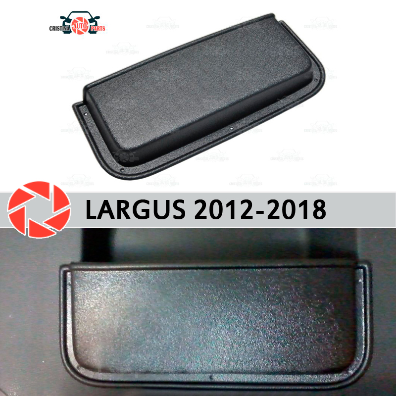 Pocket box on rear door storage for Lada Largus 2012-2018 accessories protection decoration car styling trunk organizer pocket men pocket decoration camo pants