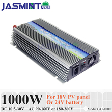 Grid Tie 1000W Micro Solar Inverter 10.5-30V DC to AC110V/220V Pure Sine Wave MPPT Inverter for 1200W PV Panel