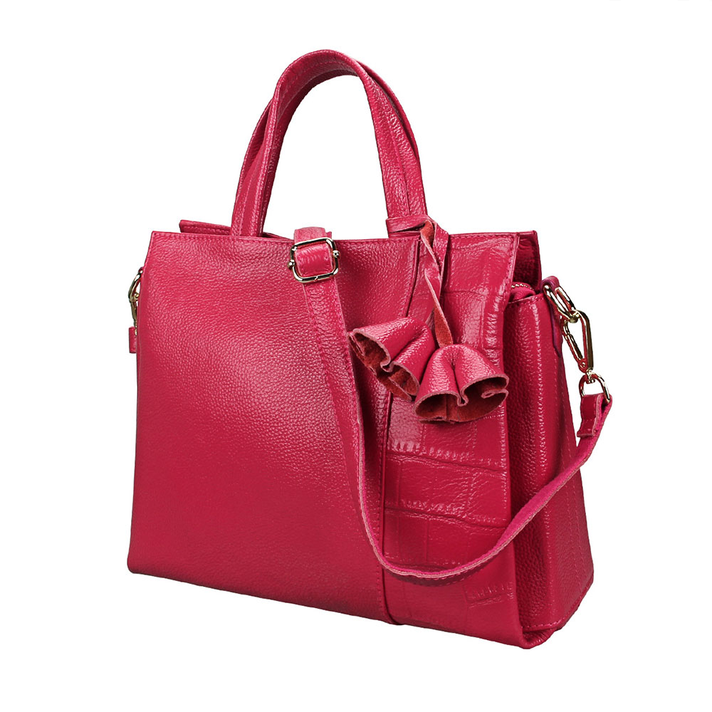 Fashion Genuine Leather Totes Female Shoulder Crossbody Bags For Women Leather Handbag Ladies Messenger Bag Large Top-handle Bag fashion mini chain handbag for women shoulder bag pu leather female crossbody bag little bag ladies messenger bags women s totes
