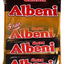 ETI Ulker Albeni молочное шоколадное Покрытие бар Карамельное печенье турецкое