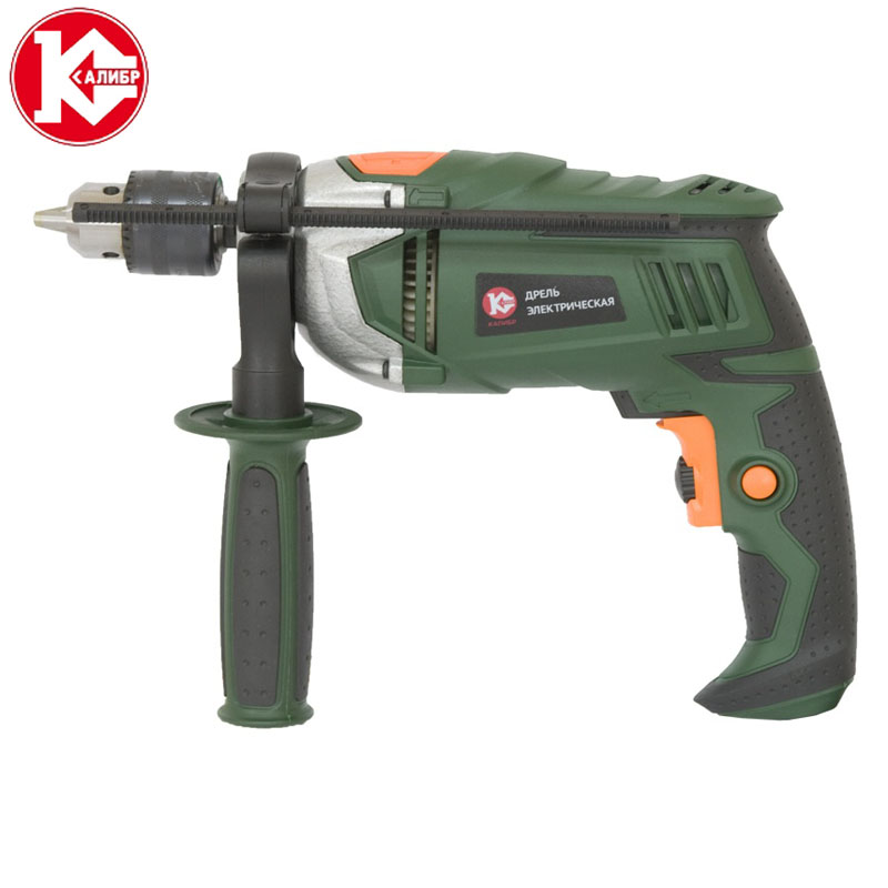 Kalibr DEMR-820ERU Electric Drill Hammer Drill  Drill Multi-function Adjustable Speed Woodworking Power Tool 300w air cooled machine tool spindle cnc motor spindle 110 220v speed power supply