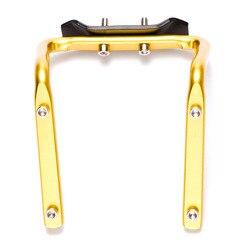 자전거 좌석 알루미늄 병 케이지 변환기 산악 자전거 안장 뒤로 이중 병 케이지 어댑터 승마 장비 액세서리