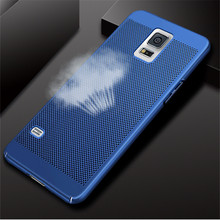 цена на Cooling Case For Samsung Galaxy S5 I9600 Ultra Thin Heat dissipation Phone Case For Samsung S5 I9600 Hard PC Plastic Back Cover