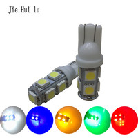 100pcs 24V T10 9SMD 5050 9 Smd 9Led Car 194 168 192 W5W LED Light Automobile