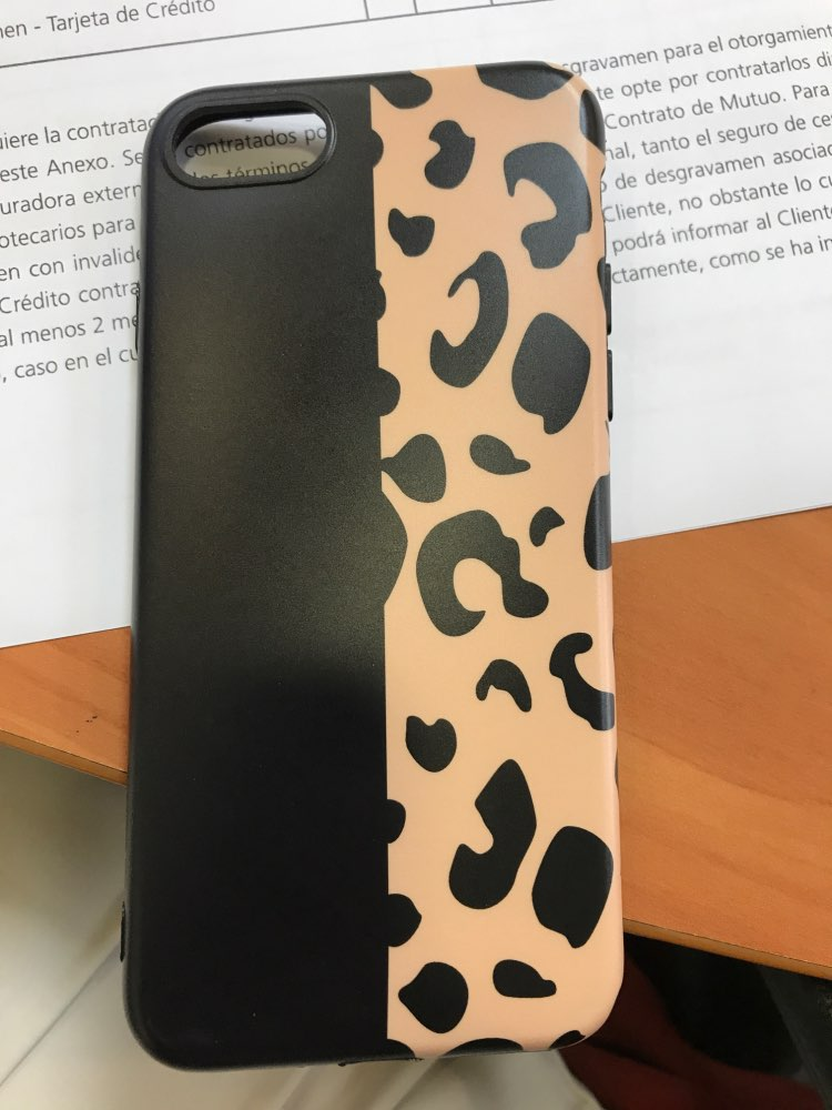 Funda Animal Print Leopardo para iPhone photo review