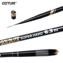 Goture GOLDLITE Series Black Color Stream Hand Telescopic Fishing Rod 2/8 Power Feeder Carp Fishing Rod 3.6M 4.5M 5.4M 6.3M 7.2M