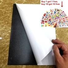 2/ 3/ 5pcs A4 Size 0.5mm Self Adhesive Flexible Magnetic Sheet Thickness Photo/Car/Exhibition/Ad Rubber Magnet297x210x0.5mm