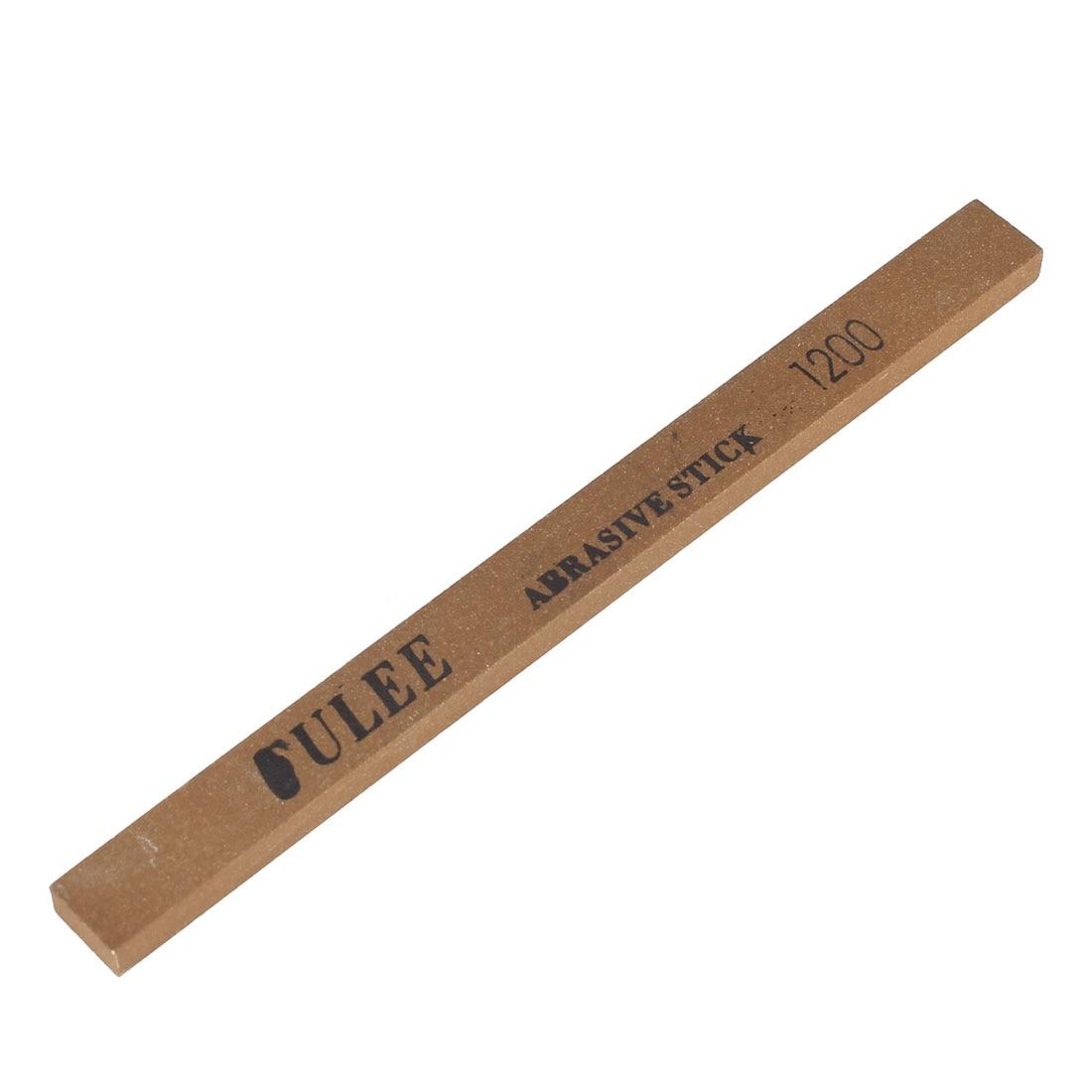 UXCELL Dark Brown Boride Abrasives Grinding Polishing Oil Stone Sticks Tool 1200#