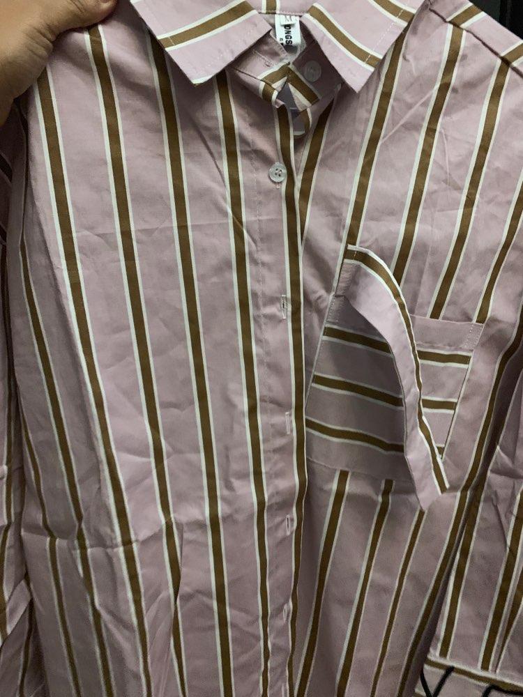 Autumn Winter Lapel Long Sleeve White Irregular Hem Cut Stitch Irregular Big Size Shirt Women Blouse Fashion photo review