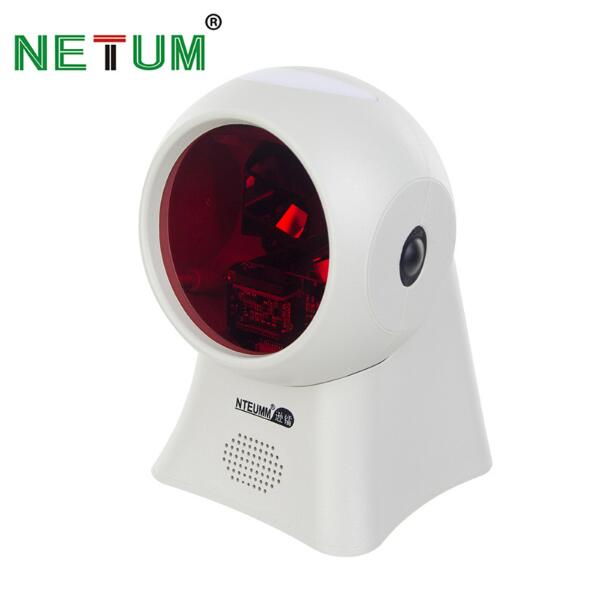 NETUM High Quality Laser Flatbed Barcode Scanner 20 Lines Desktop Omnidirectional Bar code Reader for Retail Store/Supermarket a9000 high quality automatic barcode scanner laser barcode reader high speed bar code gun for dhl express supermarket store
