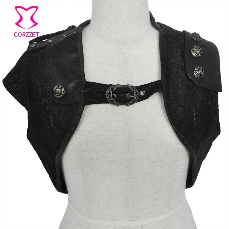 font b women b font slim femme outwear coat plus size Black Punk Style PU