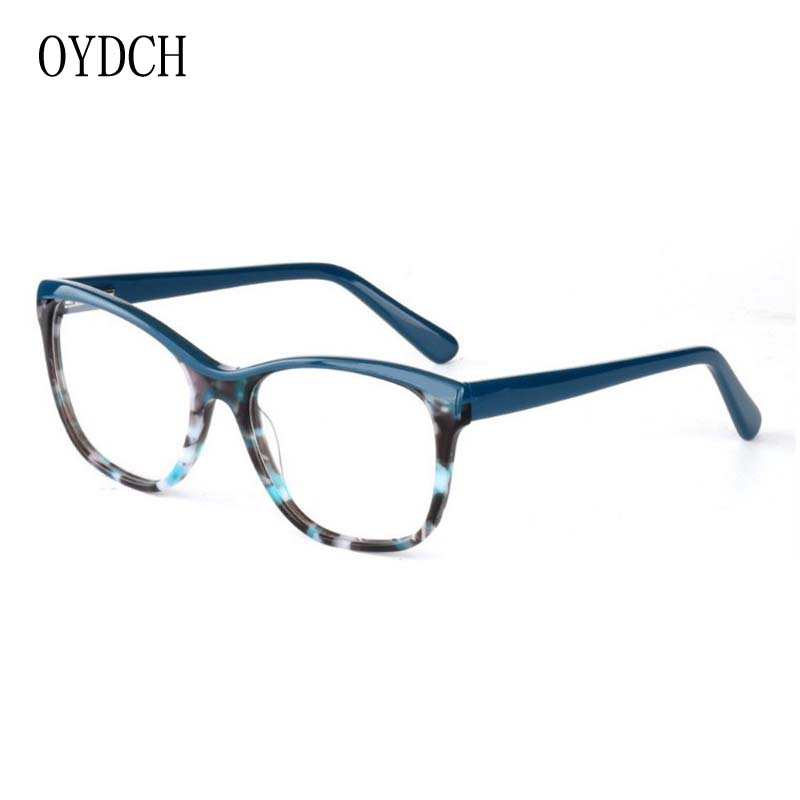 069352435c high end business ladies optical glasses frame fashion trend mosaic pattern  ladies  glasses high end acetate plate glasses frame on Aliexpress.com