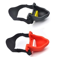 Chastity Locks Urinal Piss Gag Silicone Toy For Male and Female Virgin lock