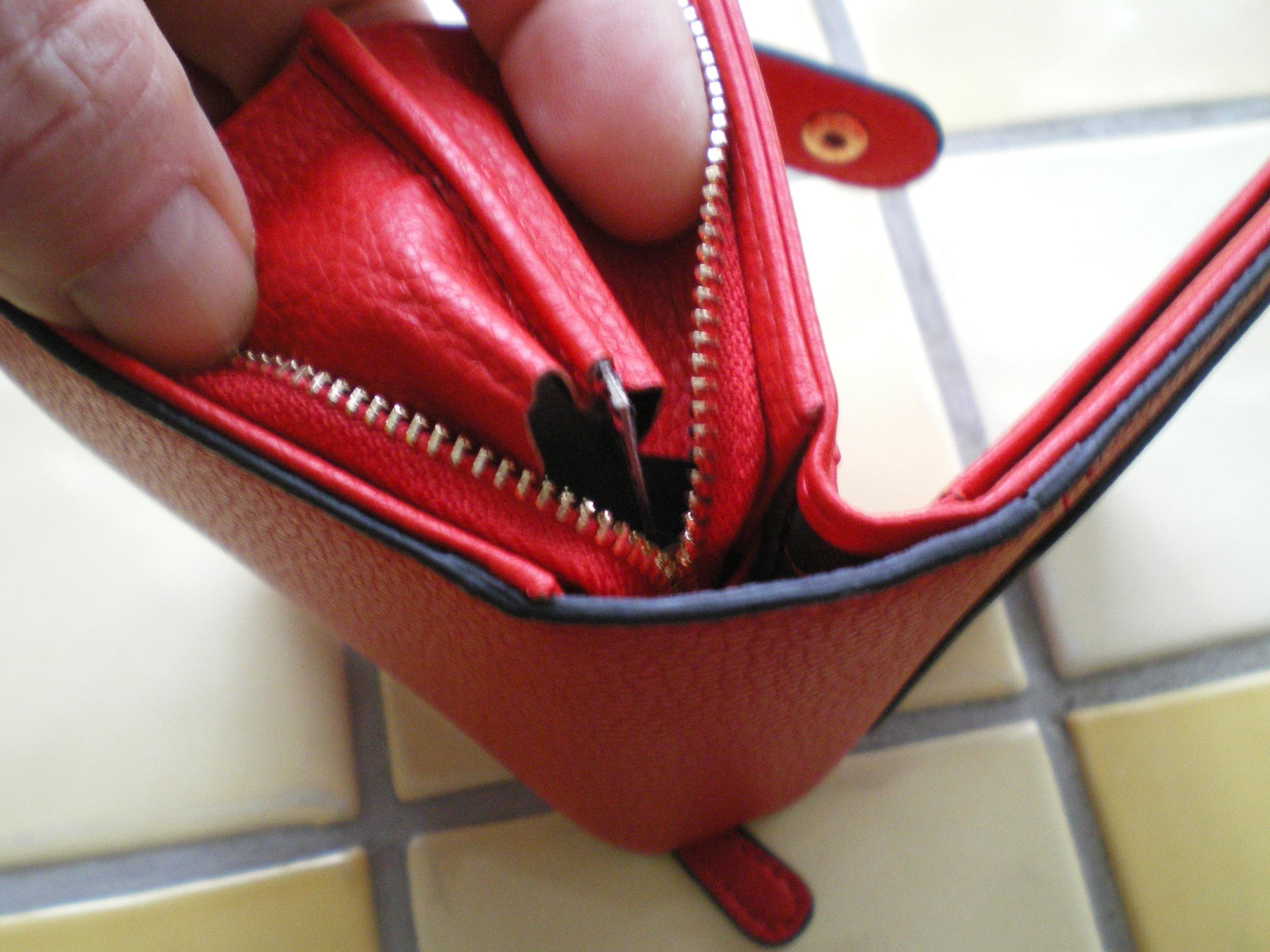 Dames Portefeuilles 2019 Nieuw Luxe merk Rood Zwart Klein Mini Portemonnee Hasp Kaarthouder Dame Portemonnee Rits Vrouwelijk lederen gesp photo review