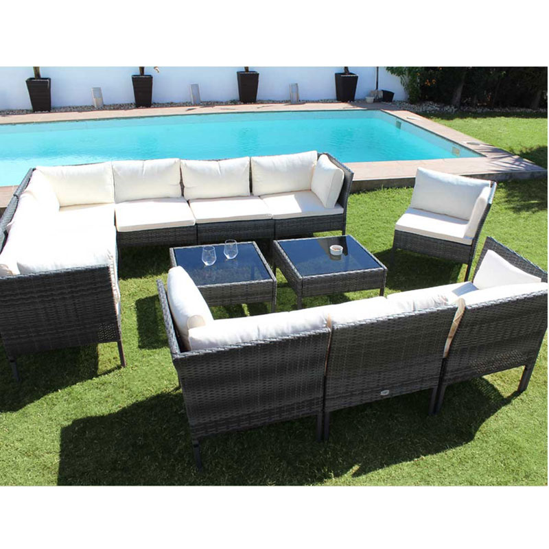 KieferGarden. Kansas Deluxe. Shipping From Spain. Material Rattan, Ones, Steel. Furniture Outside. Terrace Furniture.