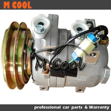 New AC Compressor For hyudnai R225-7 Excavator 11N6-90040 11N8-92040 506021-6413 506021-7082 A5000-674-001