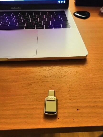 Флешка EAGET CU20-64G для смартфонов и ПК/Mac